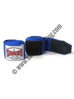 Sandee Blue 5m 100% Elasticated Cotton Hand Wrap Handwrap