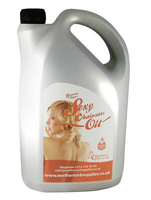 Super Sexy Chainsaw Bar Oil 5 Litre Bottle Suitable For All Makes Of Saws