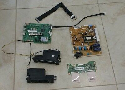 SAMSUNG LED TV COMPLETE PARTS REPAIR SET FROM UN40EH5000F Main BN96-28934A