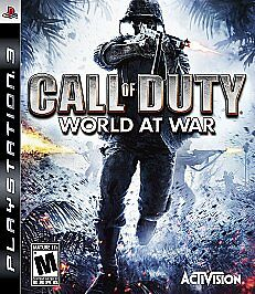 PlayStation 3 : Call of Duty: World at War VideoGames