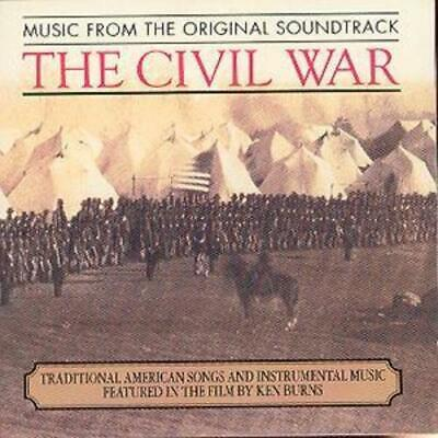Various Artists : The Civil War: Music From The Original Soundtrack CD (1991)