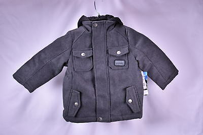 4e757568eb2e IXTREME TODDLER BOYS fleece vested Wool blend Coat - BLACK -  19.99 ...