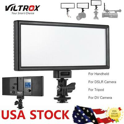Viltrox L132T Professional Ultra-thin LED Camera DSLR Video Light Photography