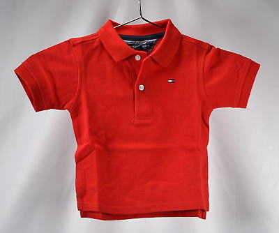 Tommy Hilfiger Baby Boys Ivy Polo Shirt - REGAL RED