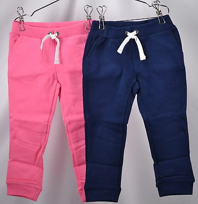 Carter's Girls Toddler 2-Pack French Terry Jogger Pants - NAVY/PINK