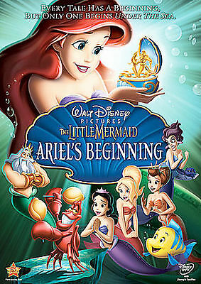 The Little Mermaid: Ariels Beginning DVD