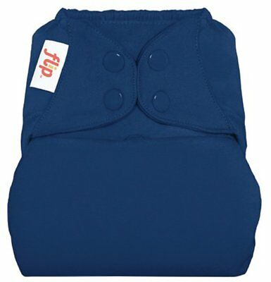 Flip Hybrid Reusable Cloth Diaper Cover with Adjustable Snaps