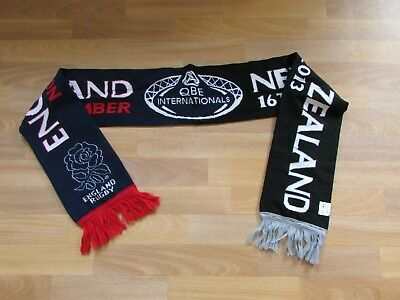 ENGLAND v New Zealand QBE Internationals 2013 RUGBY Union Scarf