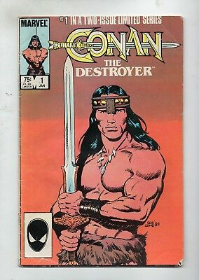 Conan The Destroyer # 1 / Fine- / Movie Adaptation.