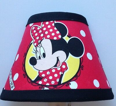 Disney Minnie Mouse Red Fabric Children's Night Light
