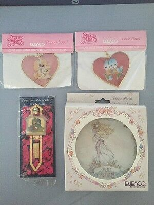 Precious Moments Assorted items Lot of 4