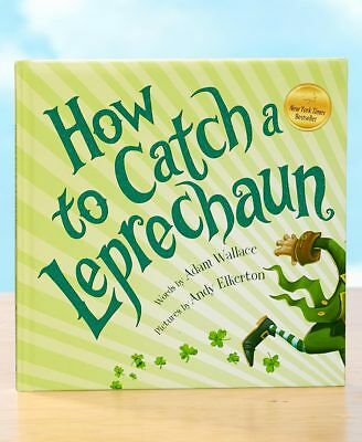 How to Catch a Leprechaun Hardcover Childrens Book, Full-color illustrations