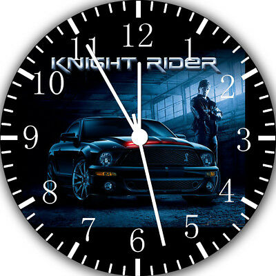 Knight Rider Frameless Borderless Wall Clock Nice For Gifts or Decor W33
