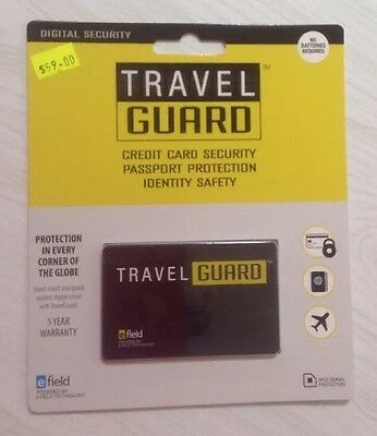Travel Guard Credit Card Security Protection Identity Security Anti Skim RFID
