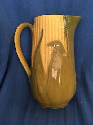 "Vintage SHAWNEE Corn King 40 oz. Ceramic Pitcher #71 Art Pottery 8.25"" 1946-54"