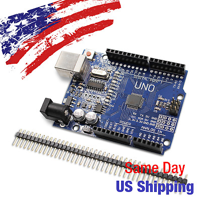 Arduino Uno SMD Compatible Microcontroller R3 ATmega328P CH340 US SHIPPING TODAY