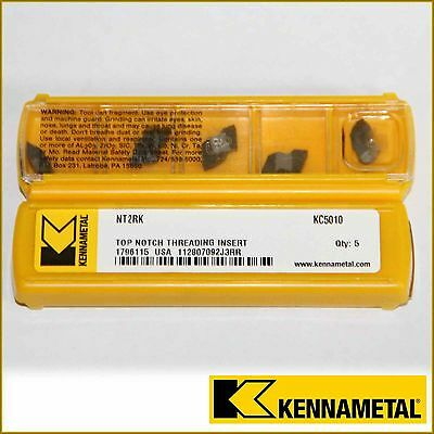 Nt2Rk Kc5010 Kennametal Insert Nt2R *** 10 Inserts *** Factory Pack ***