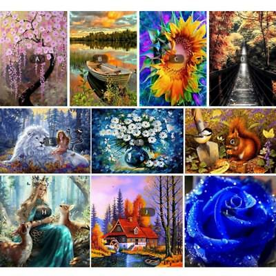 Multi Style 5D DIY Diamond Embroidery Painting Cross Stitch Kit Craft Home Decor