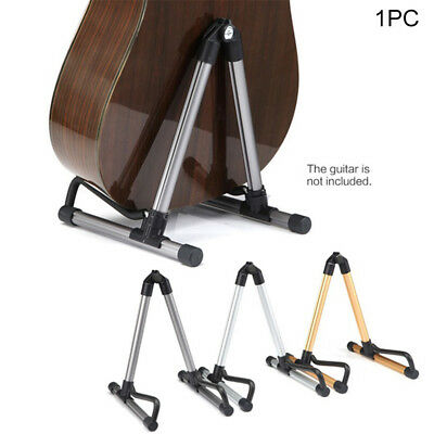 Guitar Floor Stand Holder A Frame Universal Fits Acoustic Electric Bass Rack New