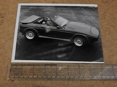 "TVR 420 SEAC press photo (UK - 1986) 8½"" x 6½"""