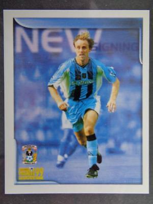 MERLIN PREMIER LEAGUE 99-WILLIE BOLAND COVENTRY CITY #152