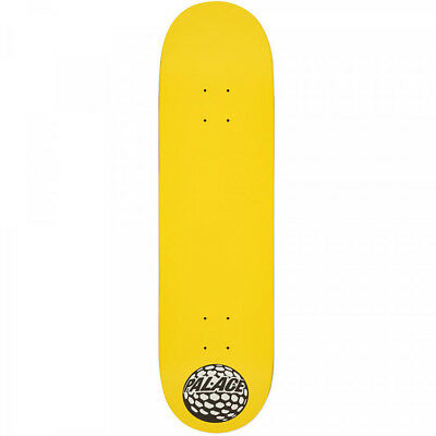 b5c022169a9c PALACE P45 Yellow Team Skateboard Deck 8.25 Inch New - Free Grip Fast  Shipping - £35.99