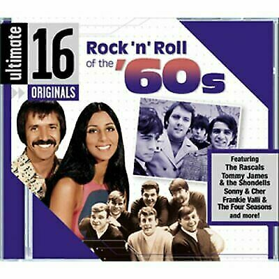 VARIOUS ARTISTS : Ultimate 16: Rock N Roll of the 60s CD