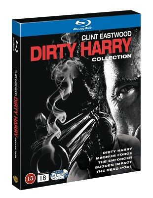 Dirty Harry Collection Blu Ray