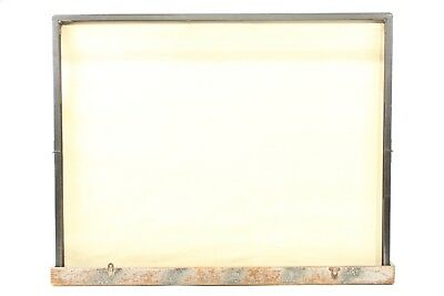 Brite Lite Beaded Screen Corp. Vintage Table-Top Projection Screen Built In Case
