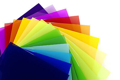 Perspex® Acrylic Plastic Clear Tinted Frosted Colours Bespoke Cut To Size Sample