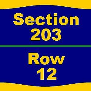 2 Tickets Kenny Chesney 4/5/19 at State Farm Center - 203 12