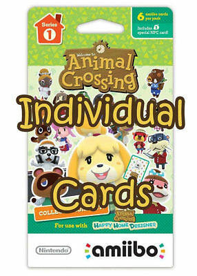 graphic relating to Printable Amiibo Cards named Fresh NINTENDO ANIMAL Crossing Amiibo Playing cards Sequence 3 3DS Wii U
