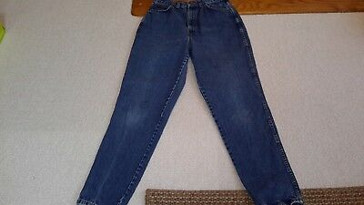 Vintage Chic Jeans 80's 90's high waist tapered leg Mom jeans med. wash 14Tall
