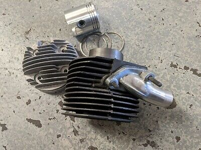 ukscooters LAMBRETTA GP200 CYLINDER KIT 66MM CYLINDER, PISTON, RINGS, HEAD, GASK