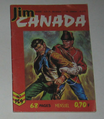 Jim Canada N° 159 ,aout 1971 Tbe (Ed. Imperia) Western ,far-West
