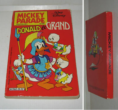MICKEY PARADE N° 59,TBE,NOVEMBRE 1984,DONALD,MICKEY,PICSOU,GOOFY,DISNEY etc...