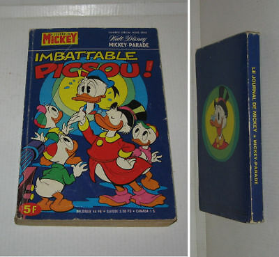 MICKEY PARADE N° 1301 bis,BE,1977,DONALD,MICKEY,PICSOU,GOOFY etc...