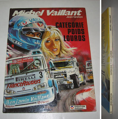 MICHEL VAILLANT n°49,CATEGORIE POIDS LOURDS EO 1987 TBE ,GRATON,F1,RACING