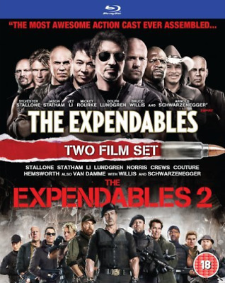 Liam Hemsworth, Bruce Willis-Expendables/The Expendables 2  Blu-ray NUOVO