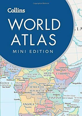 Collins World Atlas: Mini Edition by Collins Maps New Paperback Book