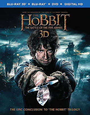 The Hobbit: The Battle of the Five Armie Blu-ray