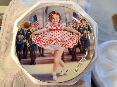Shirley Temple collector plates by Danbury Mint