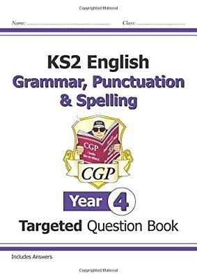 KS2 English Targeted Question Book: Grammar  Pun by CGP Books New Paperback Book