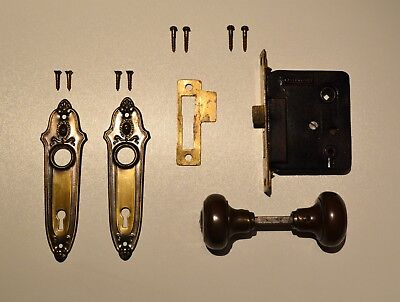Antique, vintage Belleville door hardware parts