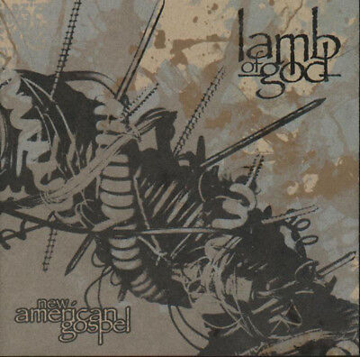 FREE US SHIP. on ANY 3+ CDs! NEW CD Lamb of God: New American Gospel