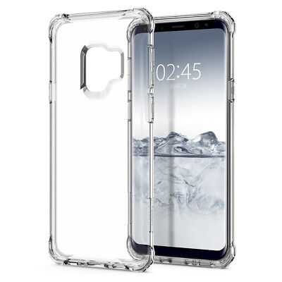 Samsung Galaxy Note 8/9 S8/S9+ A5 A8+ 360° Shockproof Clear Soft TPU Case Cover