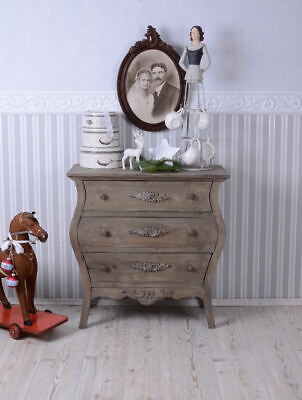 Cabinet with Drawers Antique Style Dresser Wooden Vintage Wardrobe 3