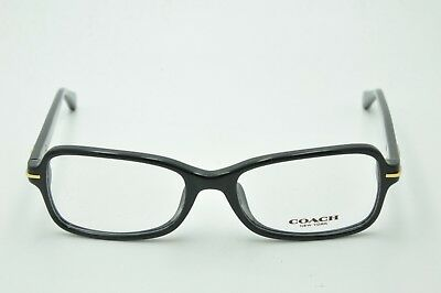a4e41598af3e NEW AUTHENTIC COACH Hc 6067F 5002 Black Frames Eyeglasses Rx 52 Mm ...