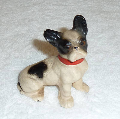 Antique Hubley French Terrier Solid Cast Iron Paperweight
