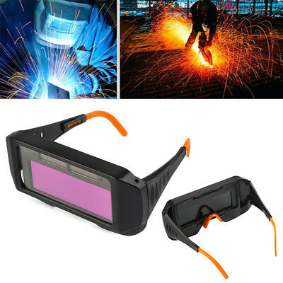 Pro Solar Auto Darkening Welding Mask Helmet Eyes Goggle Welder Glasses Protect